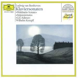 Beethoven: Piano Sonatas Nos. 21, 23 & 26