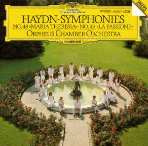Haydn: Symphonies Nos. 48 'Maria Theresia' & 49 'La Passione'