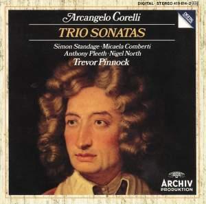 Corelli: Trio Sonatas Op. 1 No.1&#x3B; Op. 2 No. 6&#x3B; Op. 1 No. 9&#x3B; Op. 2 No. 9&#x3B; Op. 1 No. 3&#x3B; Op. 2 No. 4&#x3B; Op. 1 No. 7&#x3B; Op. 2 No. 12&#x3B; Op. 1 No. 11&#x3B; Op. 1 No. 12