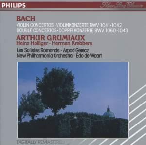 Bach, J S: Violin Concertos
