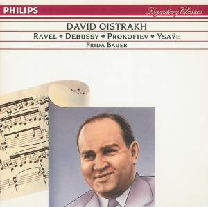 Debussy, Ravel & Ysaÿe: Works for Violin and Piano