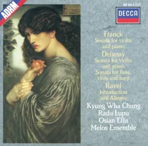 Franck, Debussy & Ravel: Violin Sonatas