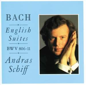 Bach, J S: English Suites Nos. 1-6, BWV806-811