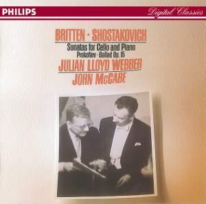 Britten & Shostakovich: Cello Sonatas
