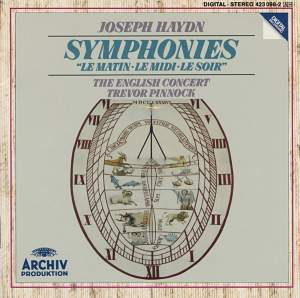 Haydn: Symphonies 'Le Matin', 'Le Midi' & 'Le Soir'