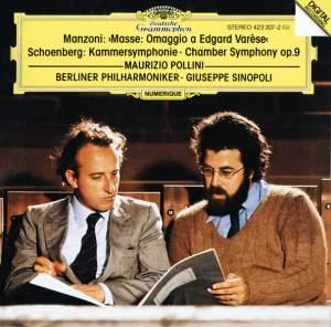 Manzoni: Masse: Omaggio a Edgard Varèse