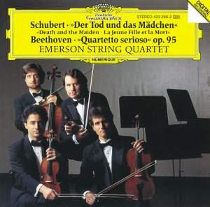 Schubert: Death and the Maiden & Beethoven: Quartetto serioso