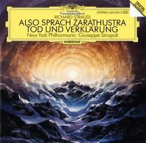 Strauss: Also sprach Zarathustra & Tod und Verklärung