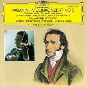 Paganini: Violin Concerto No. 5