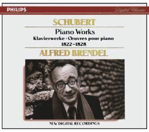 Schubert - Piano Works 1822-1828