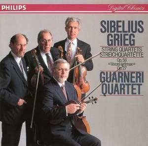 Sibelius & Grieg: String Quartets