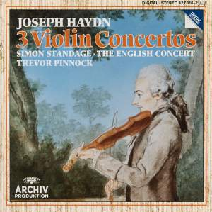 Haydn: Three Violin Concertos Product Image