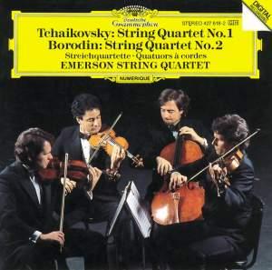 Tchaikovsky: String Quartet No. 1 & Borodin: String Quartet No. 2