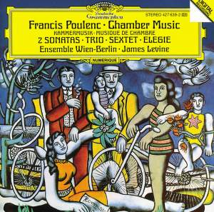 Poulenc: Trio for piano, oboe and bassoon, etc. Product Image