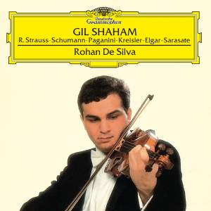 Gil Shaham & Rohan de Silva: Works for Violin and Piano