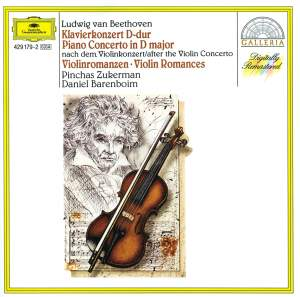 Beethoven: Piano Concerto in D major & Romances Product Image