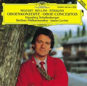 Bellini, Mozart, Strauss: Oboe Concertos