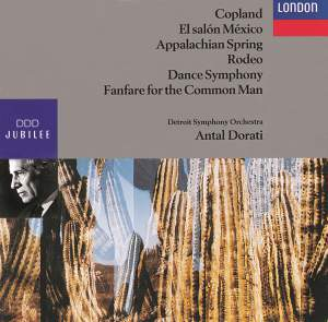 Copland: El salón Mexicó, Dance Symphony and other works