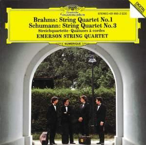 Brahms: String Quartet No. 1 & Schumann: String Quartet No. 2