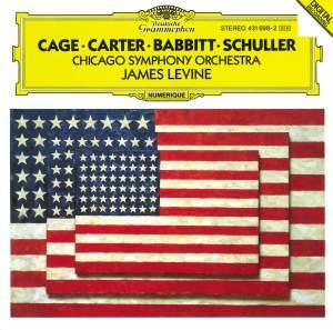 Carter, Schuller, Babbitt & Cage: Orchestral Works