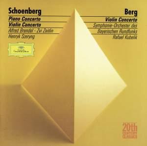 Schoenberg: Piano Concerto & Berg: Violin Concerto