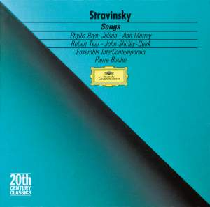 Stravinsky: Songs