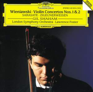 Wieniawski: Violin Concertos Nos. 1 & 2 and Sarasate: Zigeunerweisen