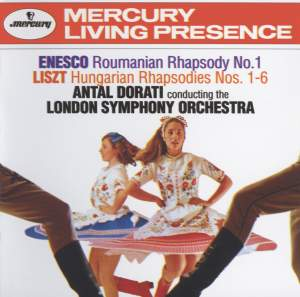 Enesco & Liszt: Roumanian & Hungarian Rhapsodies