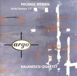 Nyman: String Quartets Nos. 1-3