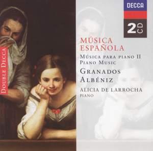 Musica Espanola - Piano Music volume 2
