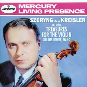 Szeryng plays Kreisler and other Treasures for the Violin Product Image