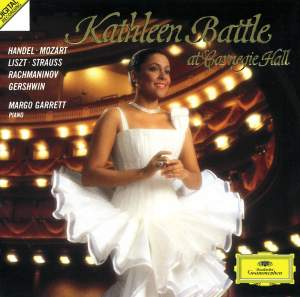 Kathleen Battle at Carnegie Hall Product Image