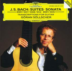 J S Bach - Transcriptions for Solo Guitar