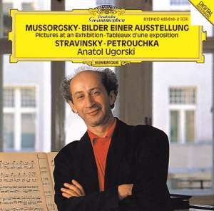 "Mussorgsky: Pictures at an Exhibition & Stravinsky: Three Movements From ""Petrushka"""
