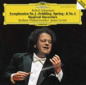 Schumann: Symphonies Nos. 1 & 4, Manfred Overture