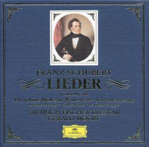 Schubert: Lieder Vol. 3