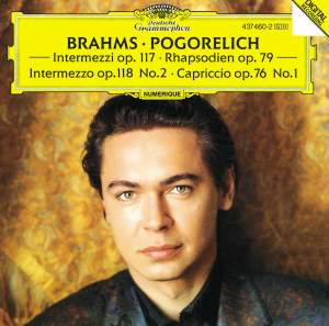 Brahms: Capriccio, Intermezzi, Rhapsodies