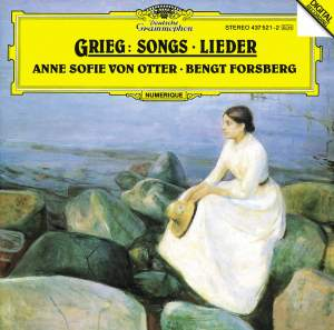Grieg: Song Cycle, Haugtussa & Other Songs