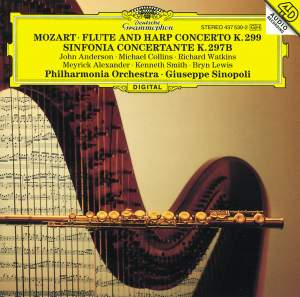 Mozart: Flute & Harp Concerto and Sinfonia concertante K297b