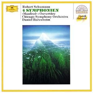 Schumann: 4 Symphonies & 'Manfred' Ouverture