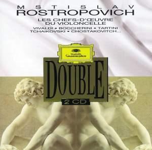 Rostropovich - Chefs D'Oeuvres Pour Violoncelle
