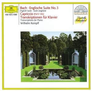 JS Bach: English Suite No. 3