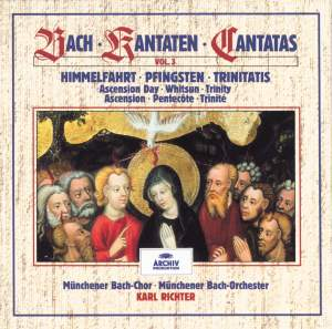 Bach Cantatas, Volume 3 Product Image