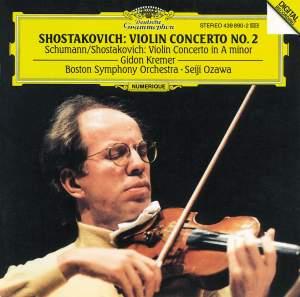 Schumann & Shostakovich: Violin Concertos