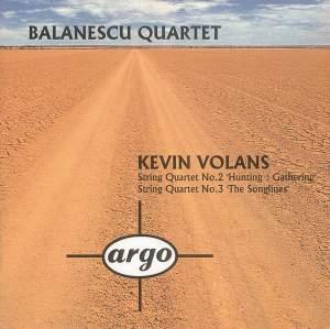 Volans: String Quartets Nos. 2 & 3