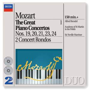 Mozart - The Great Piano Concertos, Volume 1 Product Image
