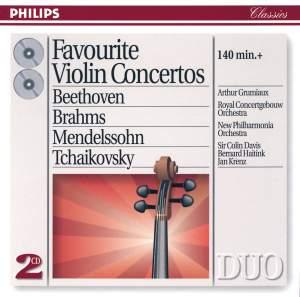 Favourite Violin Concertos