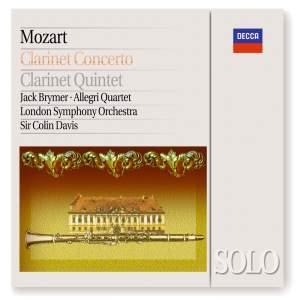 Mozart: Clarinet Concerto and Clarinet Quintet