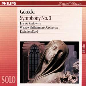 Gorecki: Symphony No. 3, Op. 36 'Symphony of Sorrowful Songs'