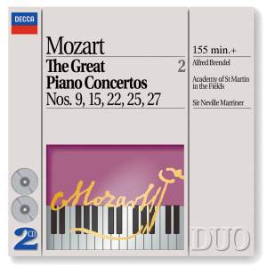 Mozart - The Great Piano Concertos, Volume 2